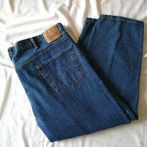Levi's 550 Men's Big & Tall Denim Blue Relaxed Fit